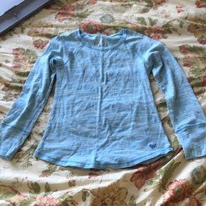 Justice blue heather shirt